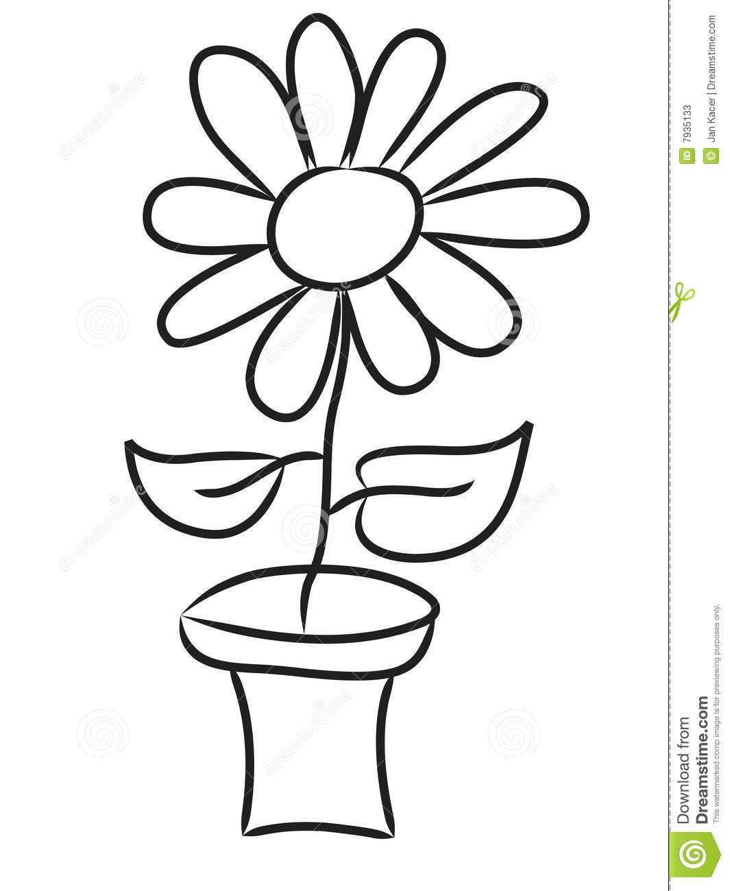 Dandelion Flower Clip Royalty Free Auto Electrical Wiring Diagram Clifford Alarms B134718b Hand Draw Flowers Stock Photos