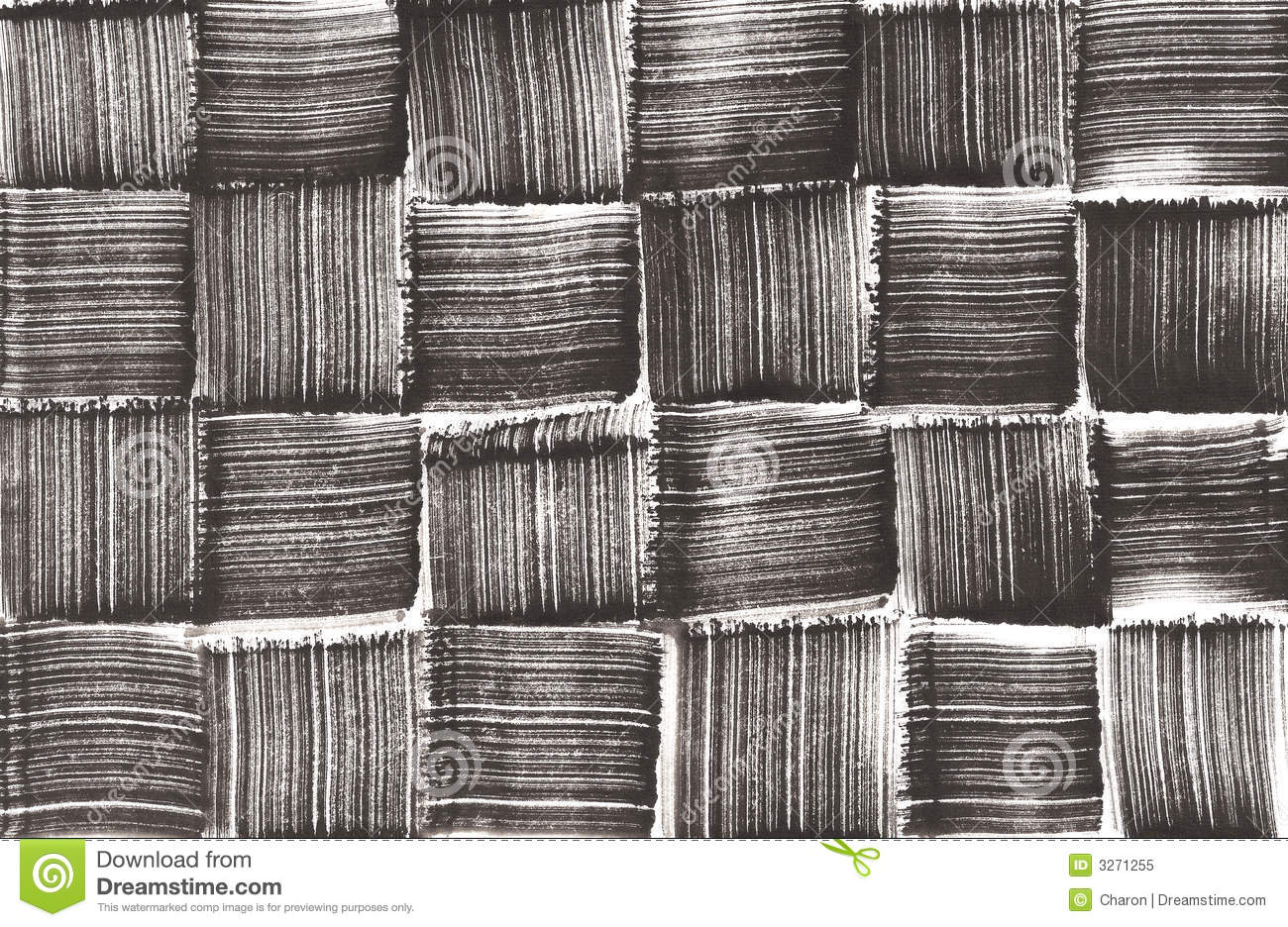 Black Textured Wallpaper Hand Painted Woven Pattern Royalty Free Stock Photo