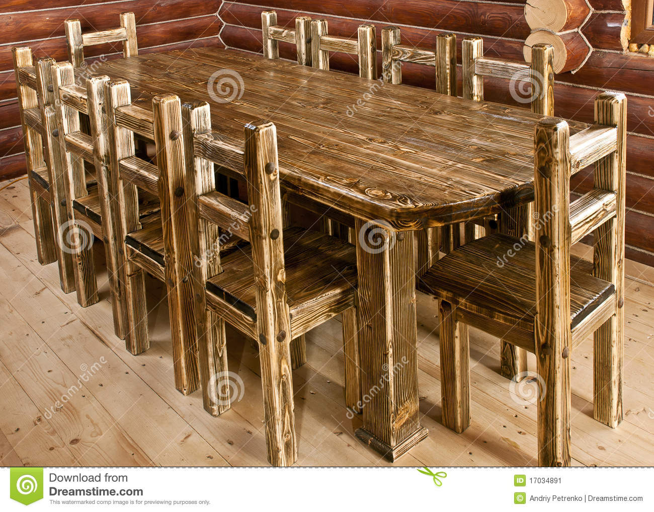 stock image handmade large kitchen table image large kitchen tables Handmade large kitchen table