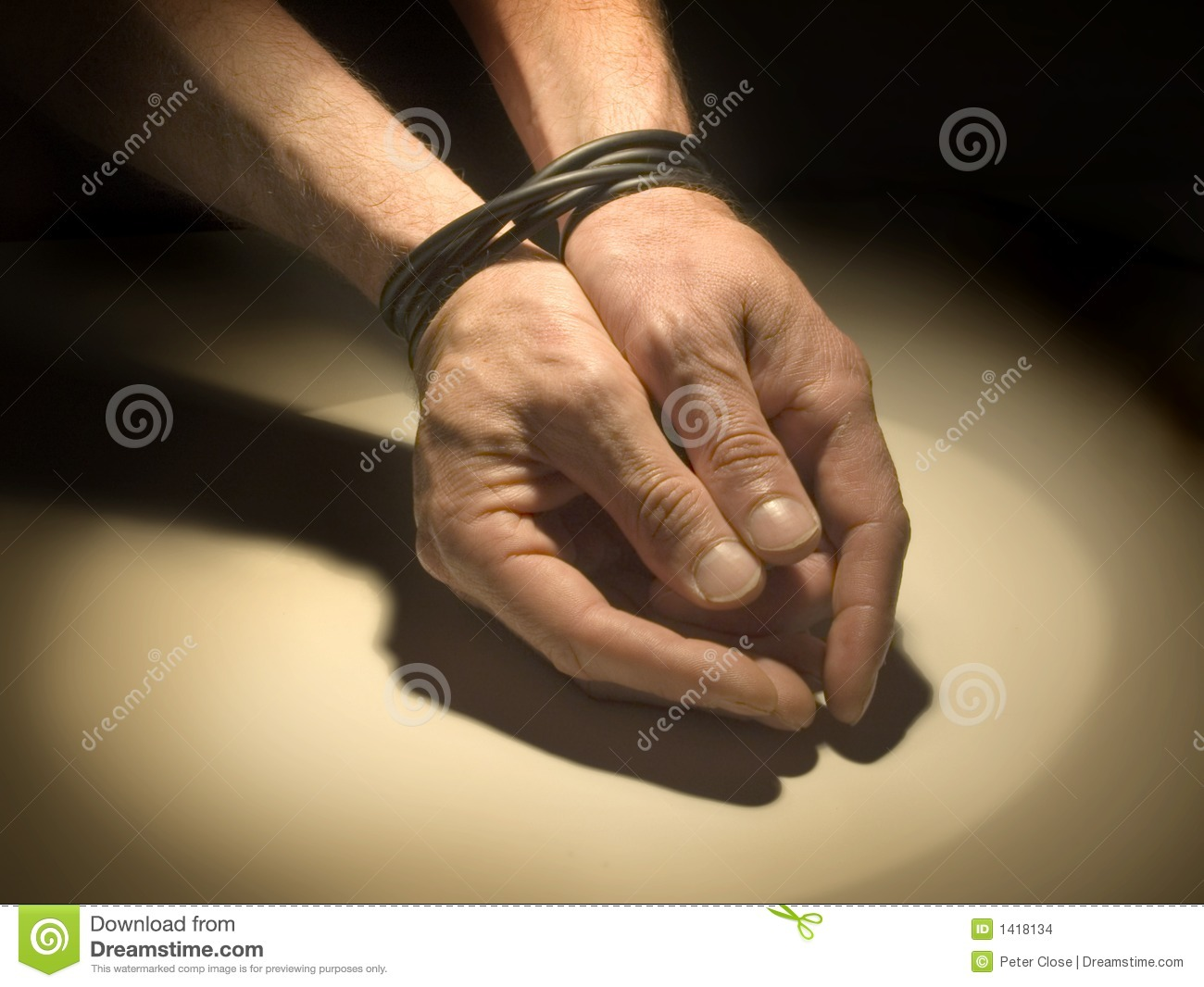 Police Officer Girl Wallpaper Hands Tied Stock Images Image 1418134