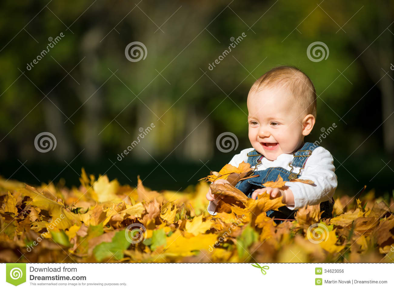 Wallpaper Cowboy Girl Happiness Baby In Nature Royalty Free Stock Image