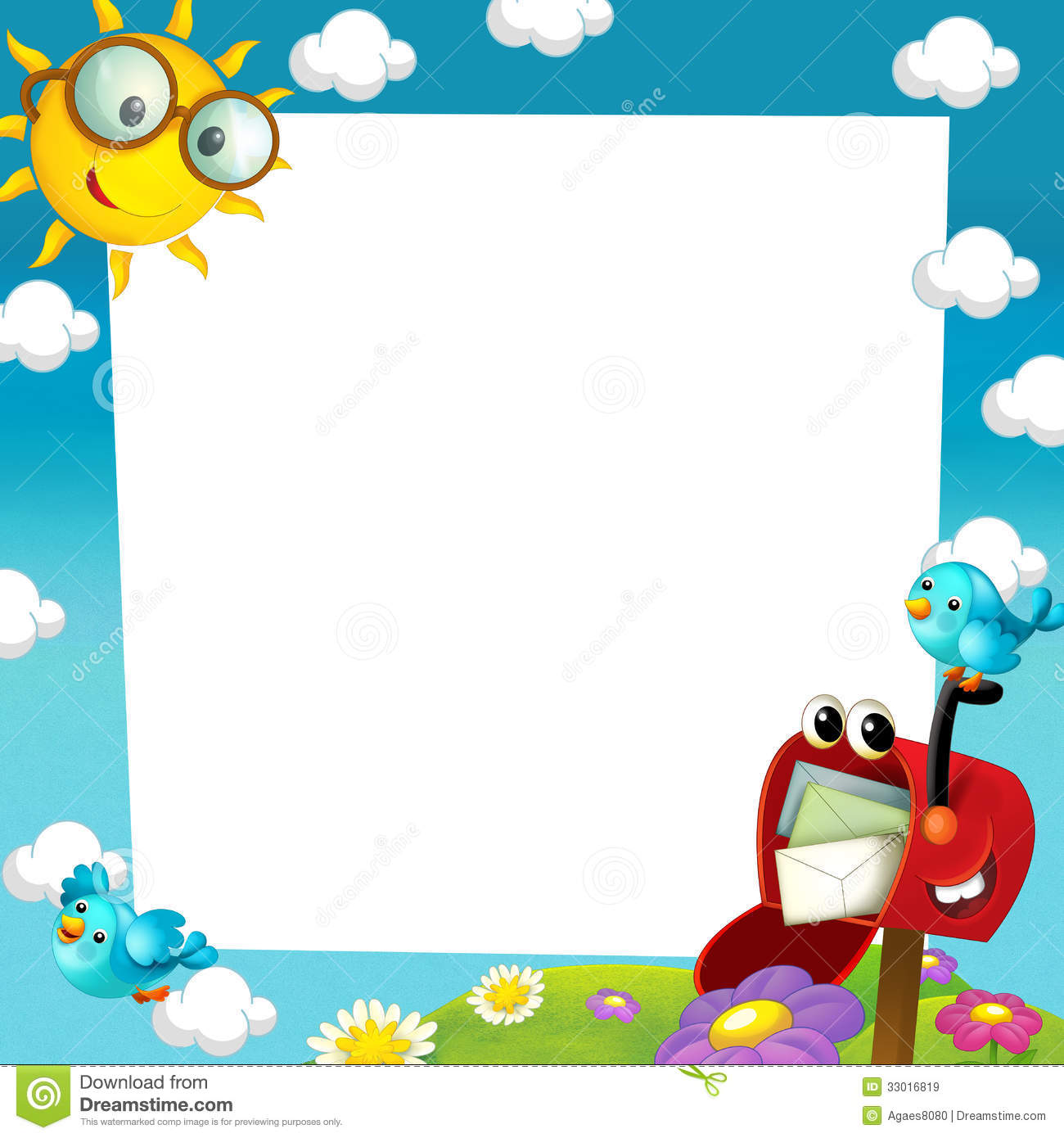Cute Pooh Bear Wallpapers Happy And Colorful Frame For The Children Stock