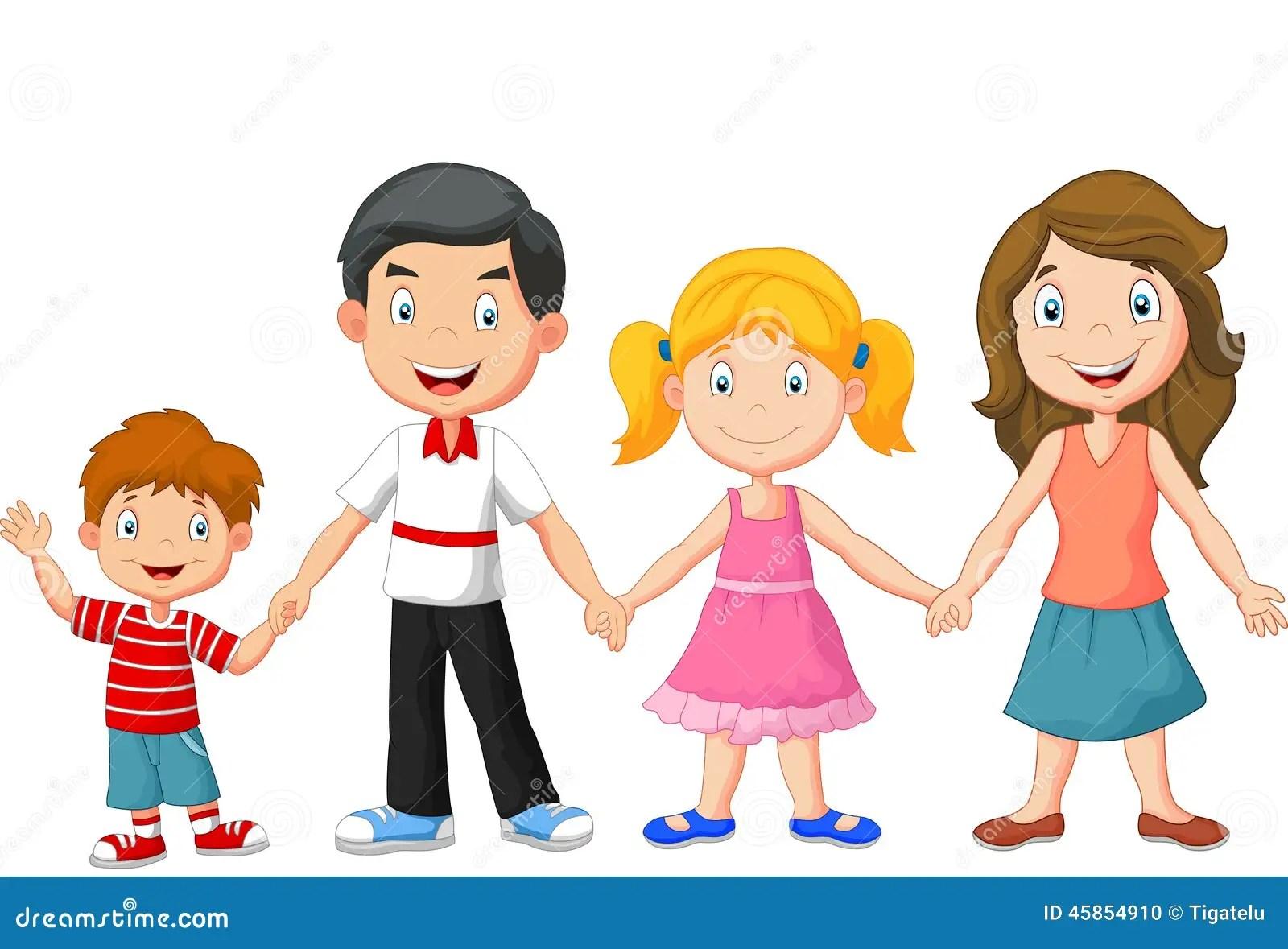Cute Twins Baby Hd Wallpaper Happy Cartoon Family Cartoon Vector Cartoondealer Com