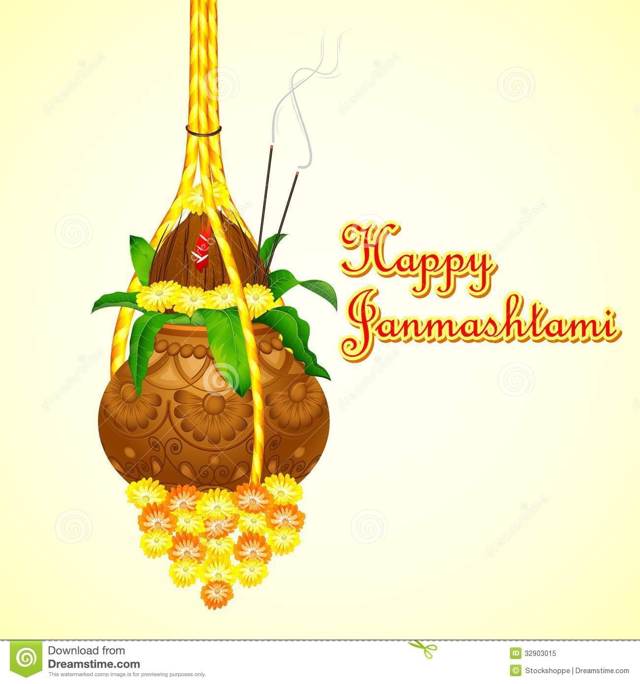 Krishna Hd Wallpaper Free Download Happy Janmashtami Royalty Free Stock Photo Image 32903015