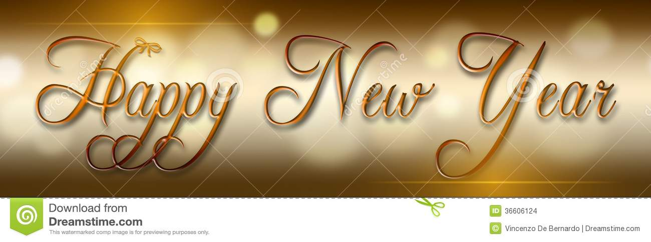 Happy new year stock photo Image of printing, cubital - 36606124