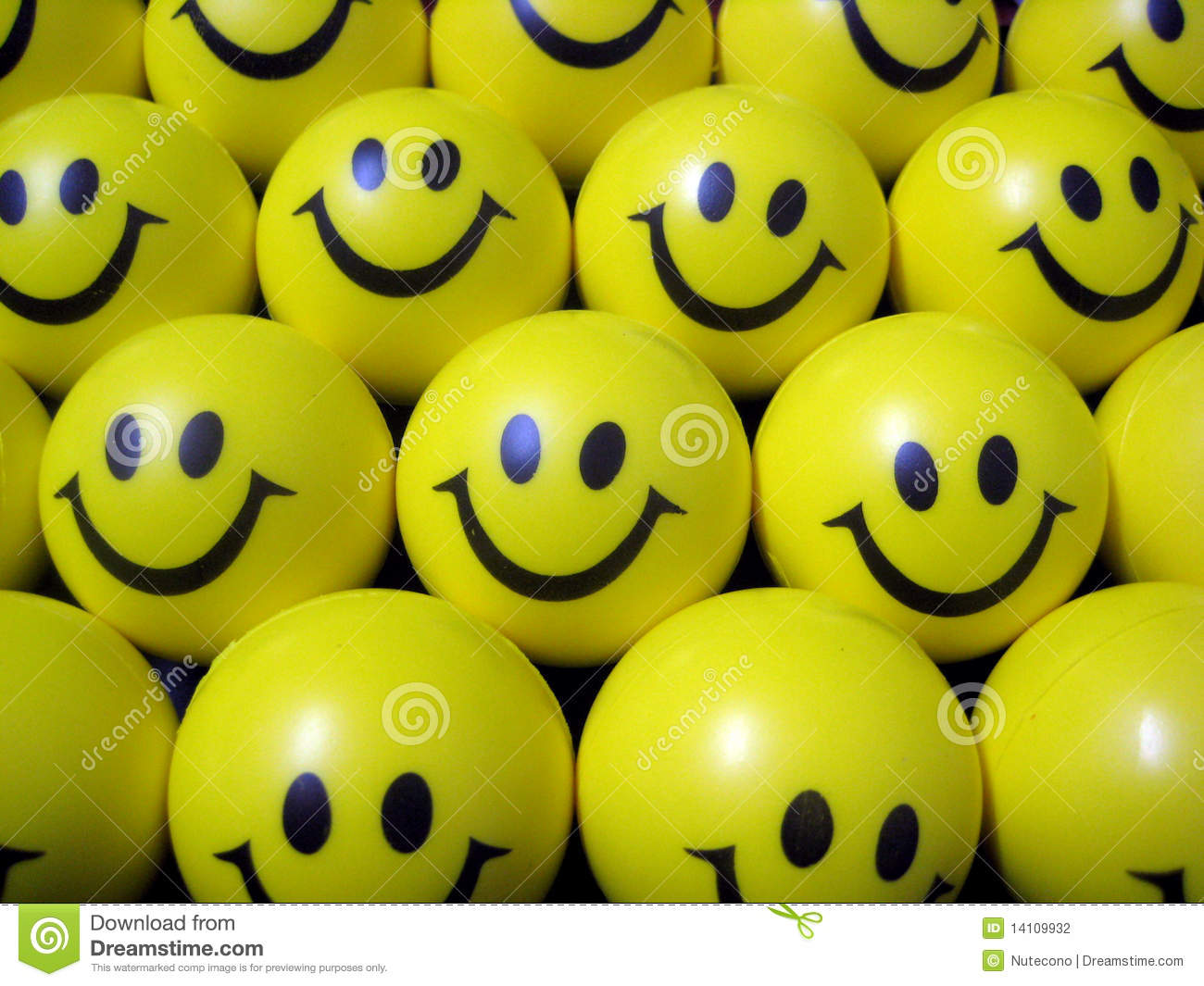 Emoticons Cute Wallpaper Happy Smiley Face Balls Stock Photography Image 14109932