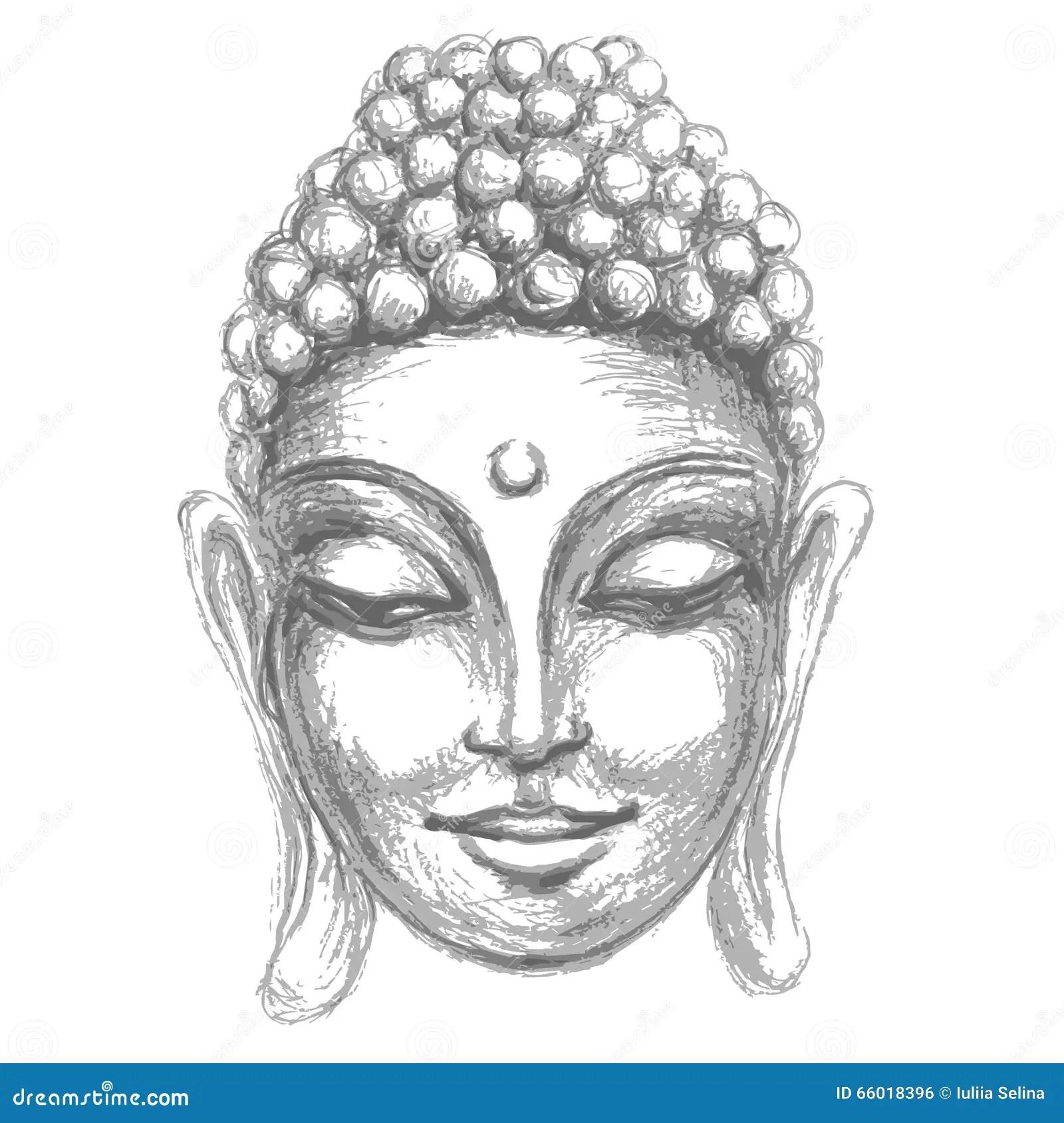 Om Animation Wallpaper Head Smiling Buddha Stock Illustration Image Of Aura