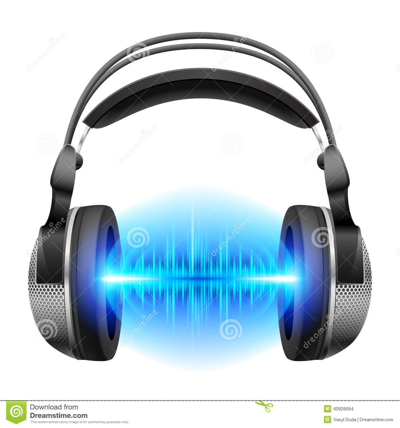 Morning 3d Wallpaper Headphones With Music Playing