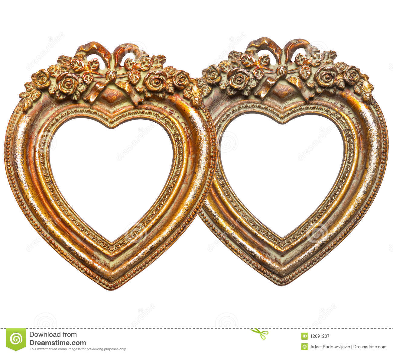 Heart Picture Frames Royalty Free Stock Photography - Heart Frames For Photos