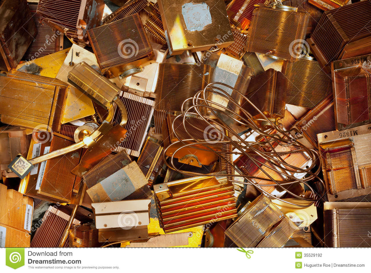Circuit Board Clock Computer Steampunk Techi Recycled Copper Auto Old Boards Stock Images Image 13040664 Heat Sinks Photography