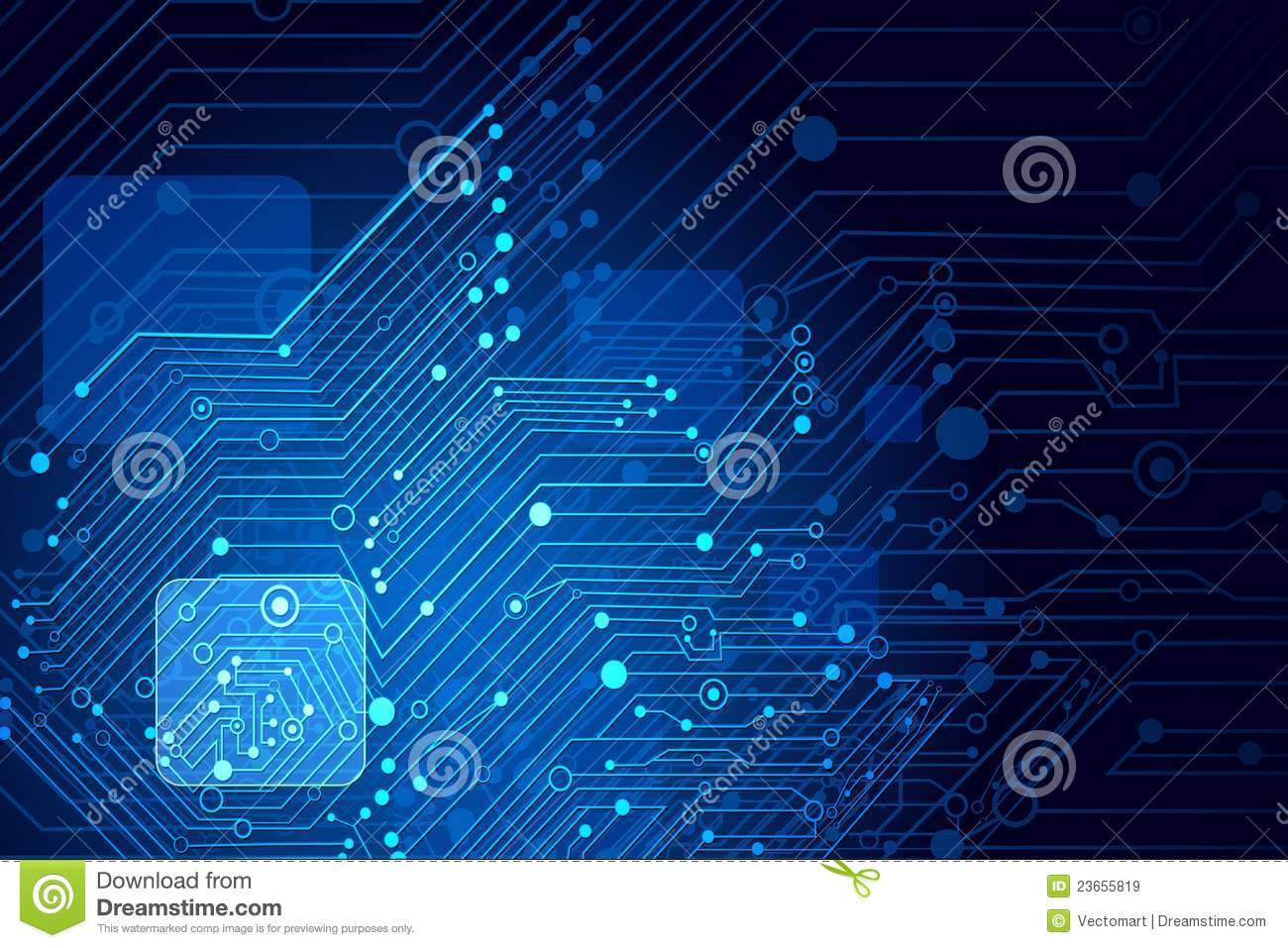 Motherboard Wallpaper 3d High Tech Background Royalty Free Stock Images Image