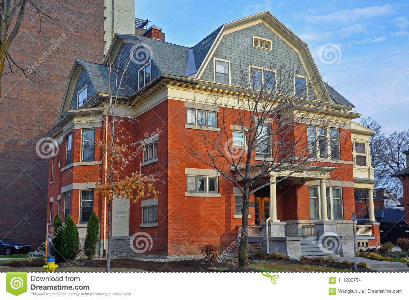 House Builders Ottawa Historic Building In Ottawa Canada Stock Photo Image Of Empire