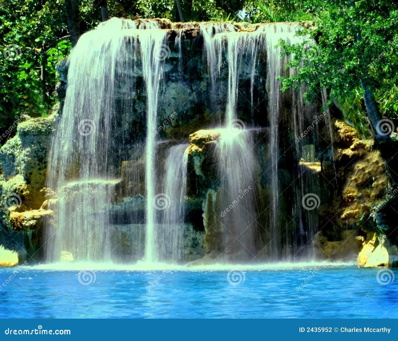 Wallpaper Of Water Fall Historic Florida Venetian Pool Stock Photo Image 2435952