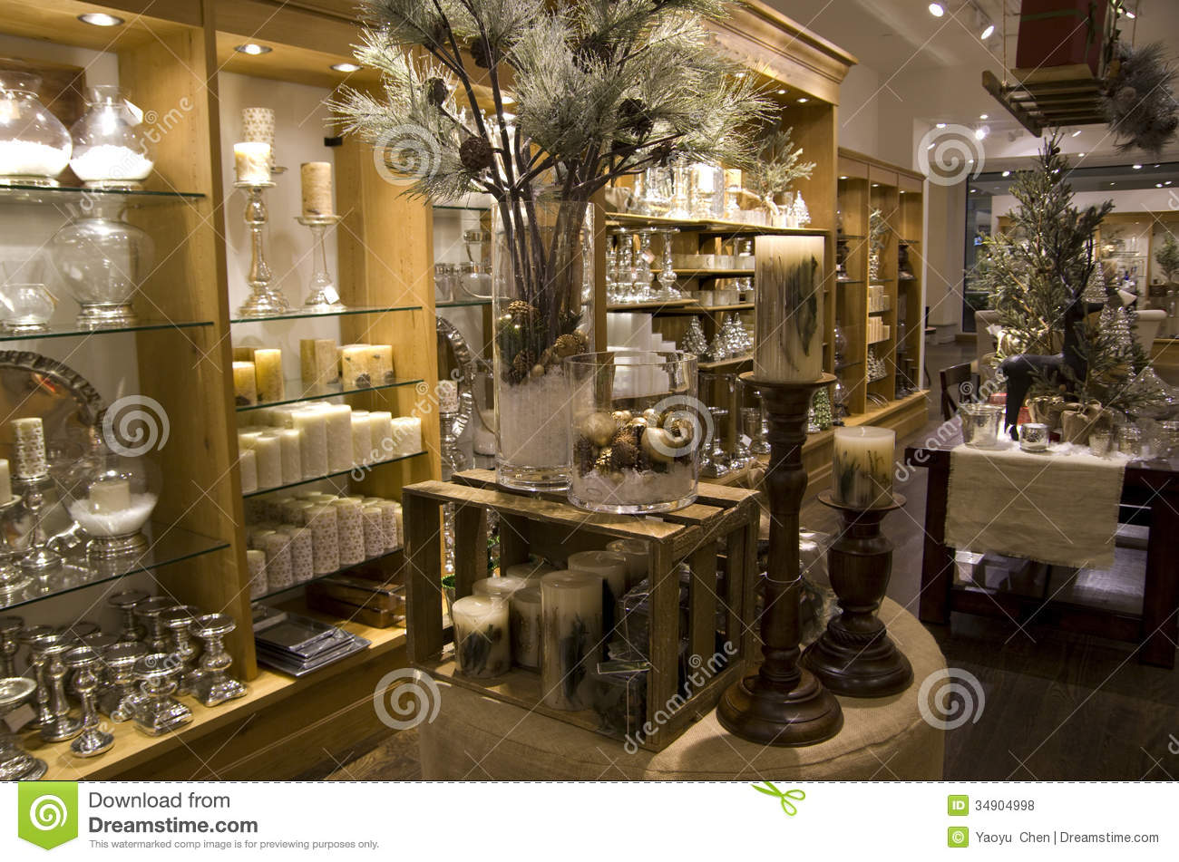 Best Home Decor Stores Home Decor Store Stock Photo Image Of Lighting Shelves