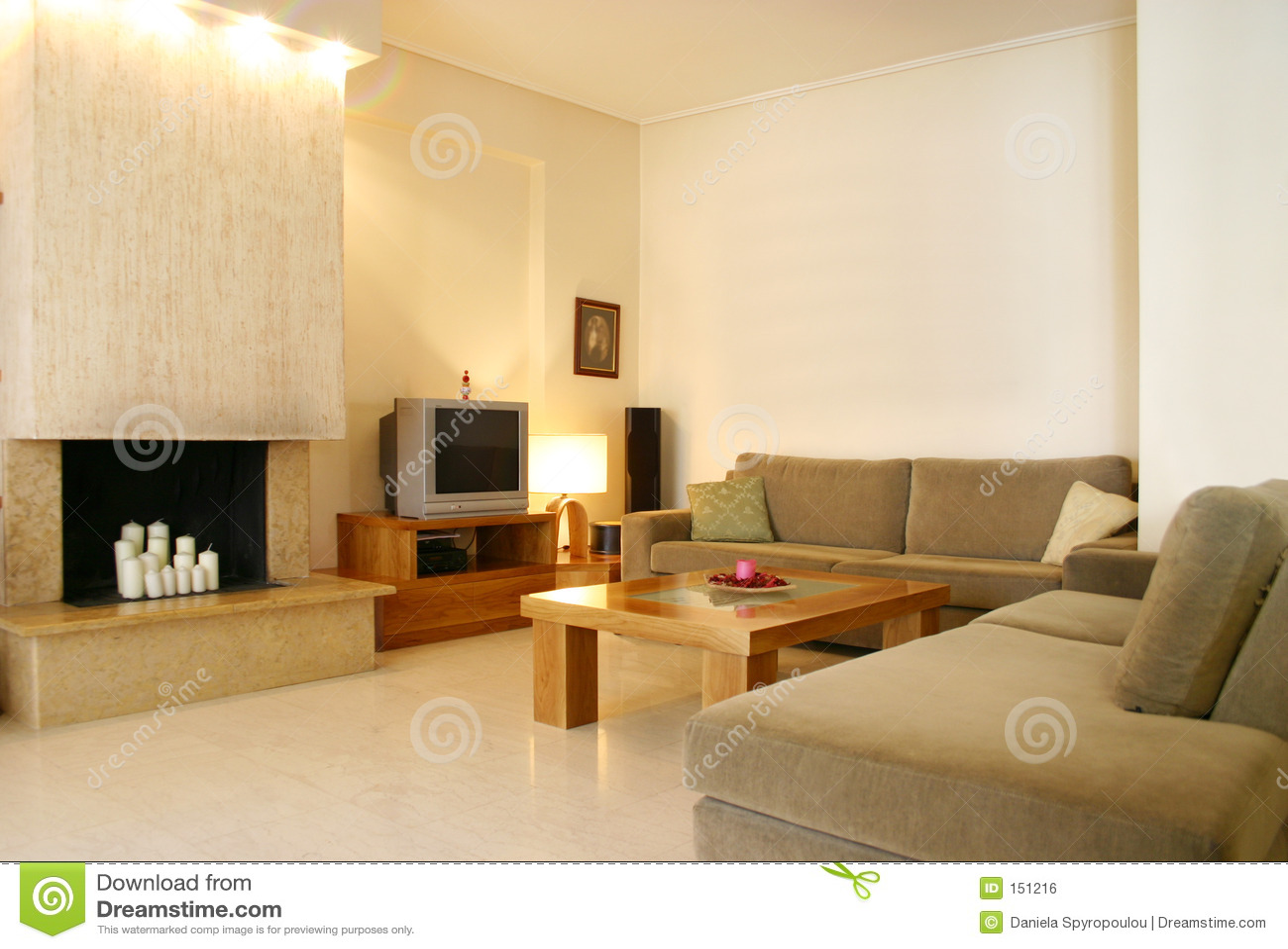 Contemporary design home interior
