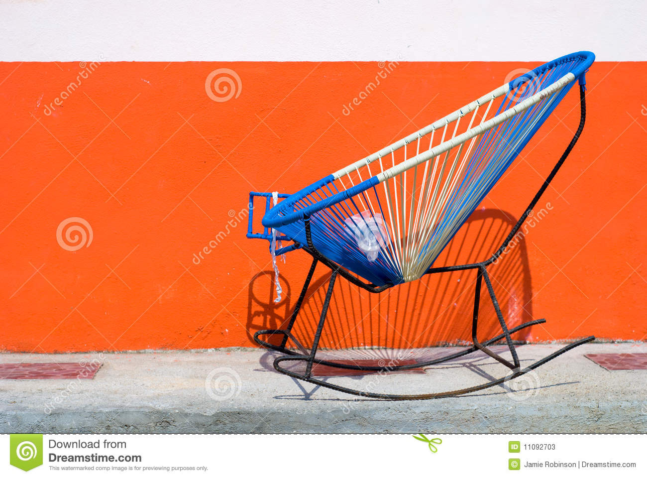 Mexican Rocking Chair Homemade Mexican Rocking Chair Stock Image Image Of Home