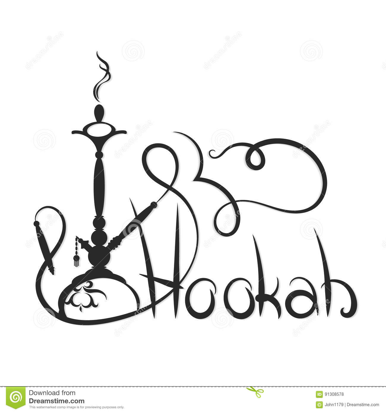 smoke silhouette auto electrical wiring diagramhookah abstract silhouette stock vector image of lounge