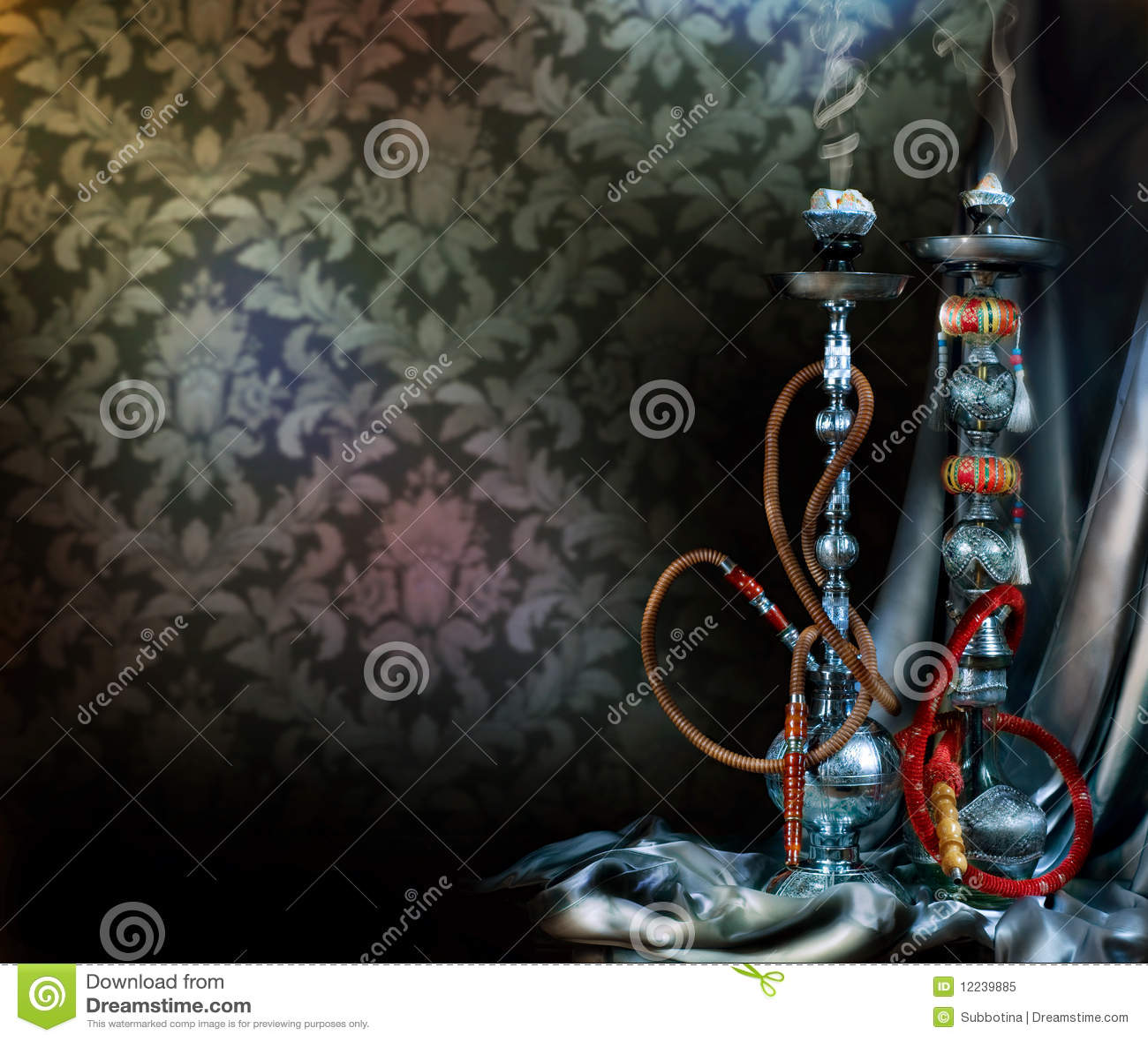 Girl Smoking Hd Wallpaper Hookah Or Shisha Stock Image Image Of Isolated Inhale