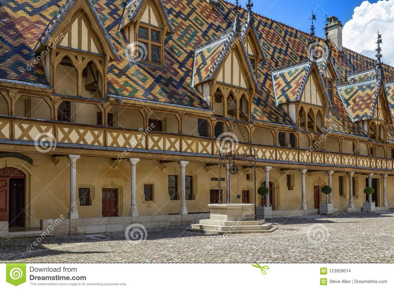 Beaune Hotel Hospices De Beaune Or Hotel Dieu De Beaune Beaune France