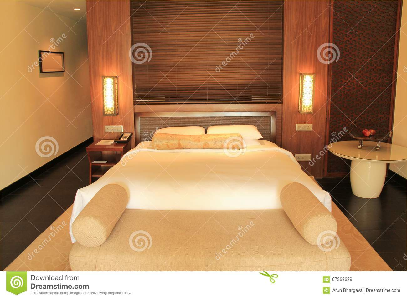Sofa Bed Hotel Quality Hotel Room Stock Photo Image 67369629