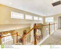 House Inteior With Indoor Balcony Stock Image - Image of ...