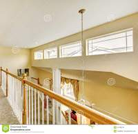 House Inteior With Indoor Balcony Stock Image - Image ...