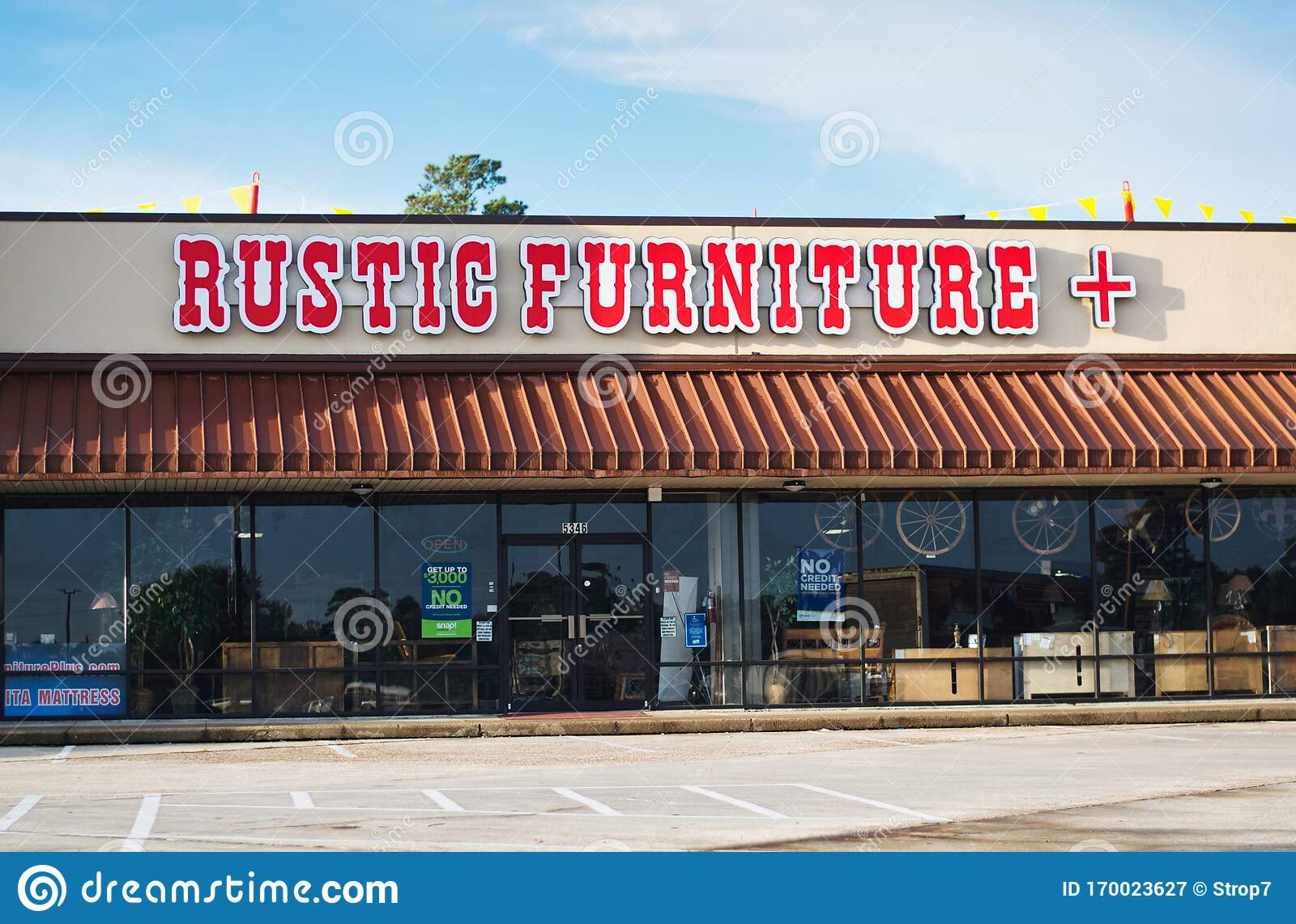 Rustic Furniture Plus Store Exterior In Humble Texas Editorial Photography Image Of Landmarks Illustrative 170023627
