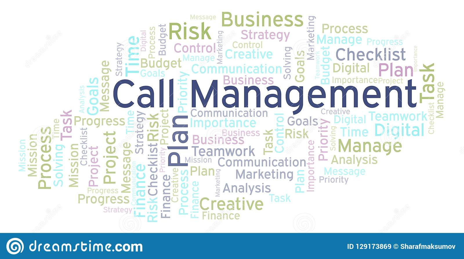 Manage Resource Human Resource Management Word Cloud Made With Text Only Stock