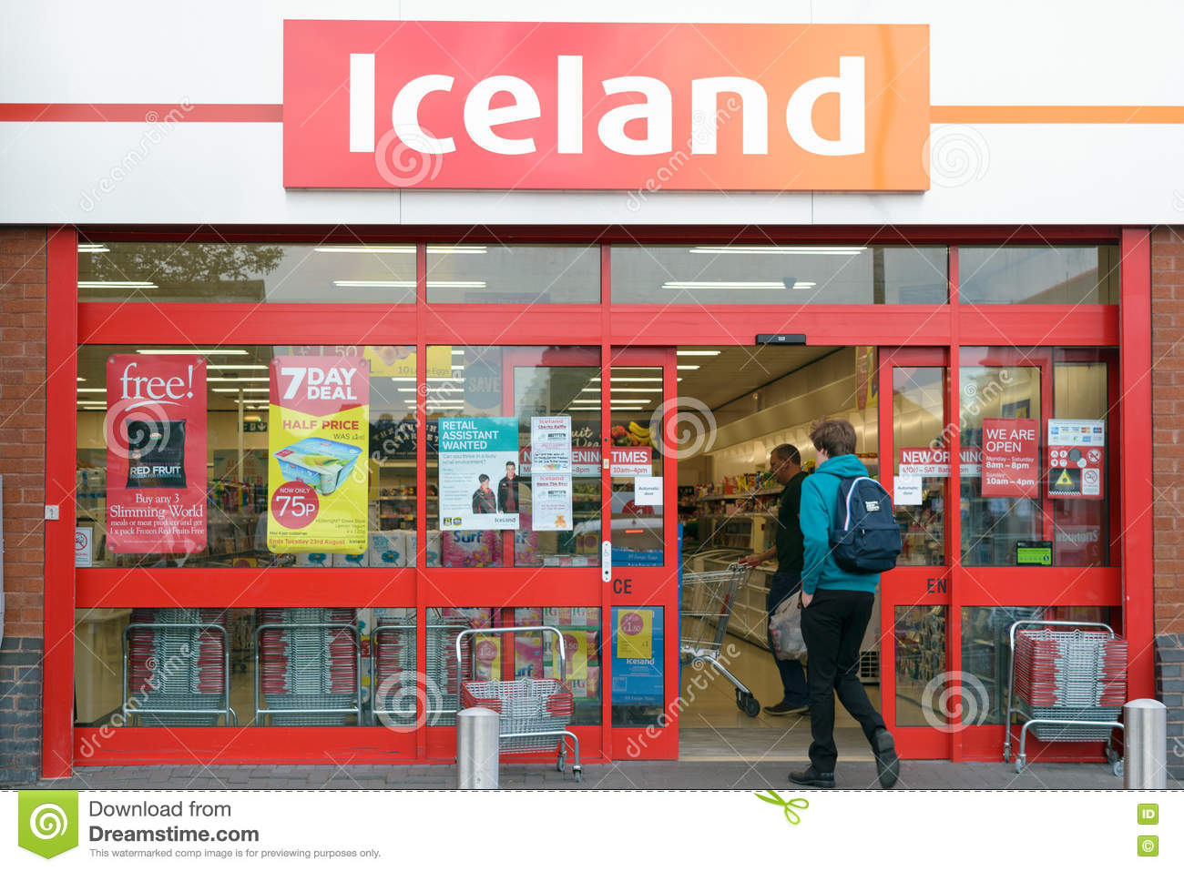 Store En Stock Iceland Store Shopfront Editorial Stock Photo Image Of Facade