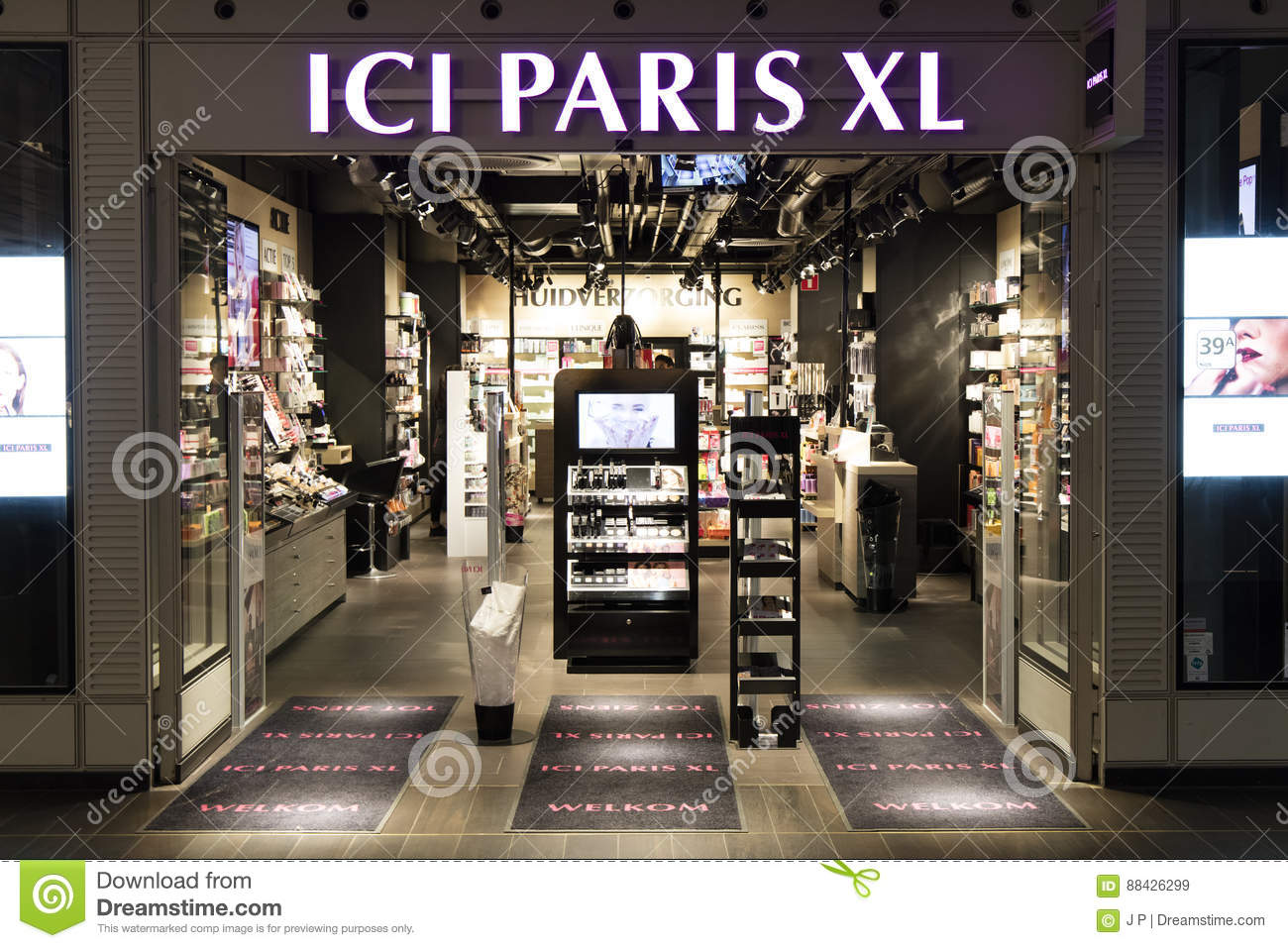 Ici Store Ici Paris Xl Store In Amsterdam Editorial Stock Image Image Of