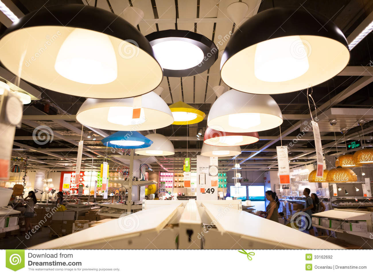 Ikea Store In Chengdu Lamps Editorial Photography Image Of Home Table 33162692