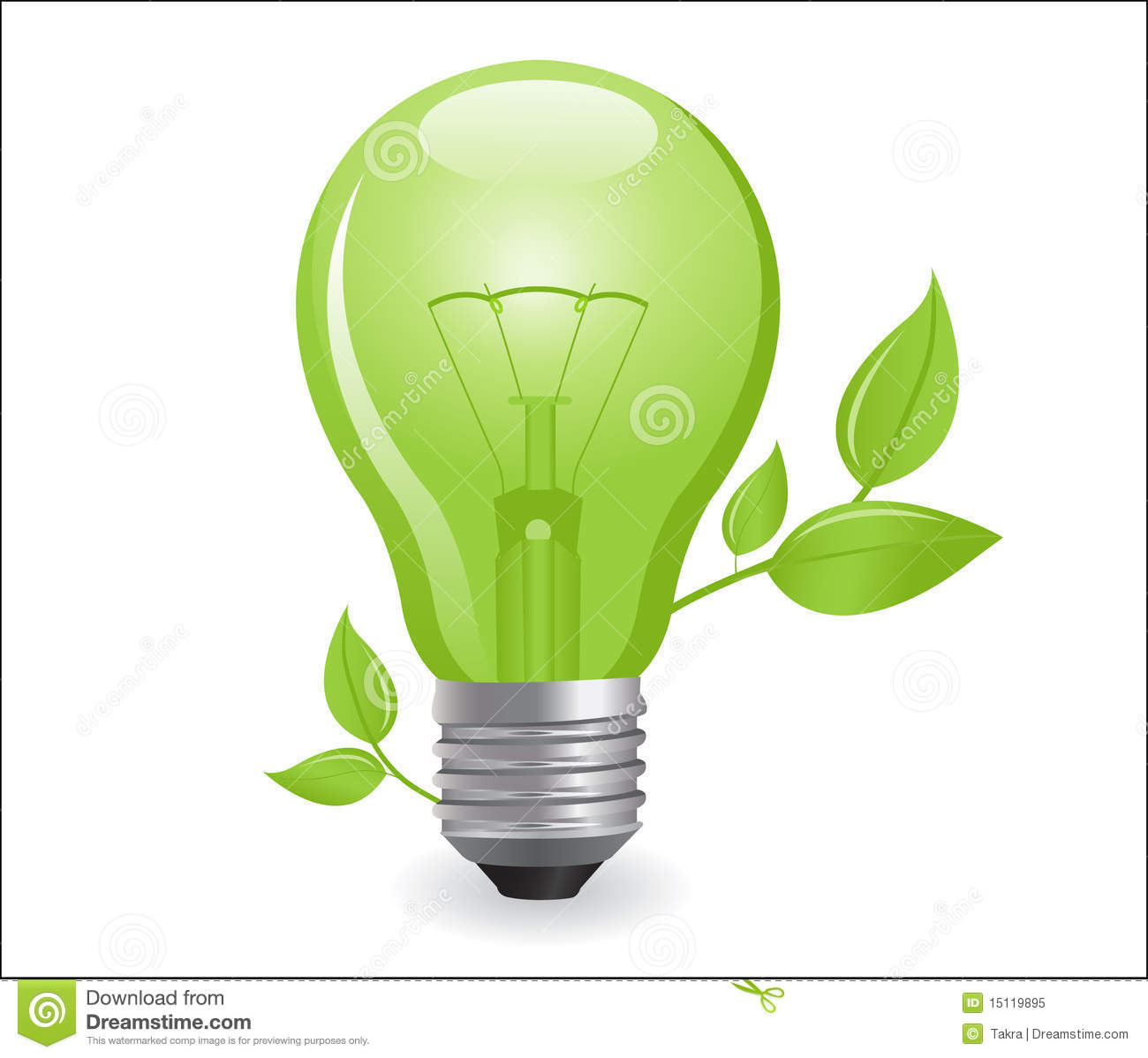 Incandescent Lamp Symbol Incandescent Electric Lamp Royalty Free Stock Photo