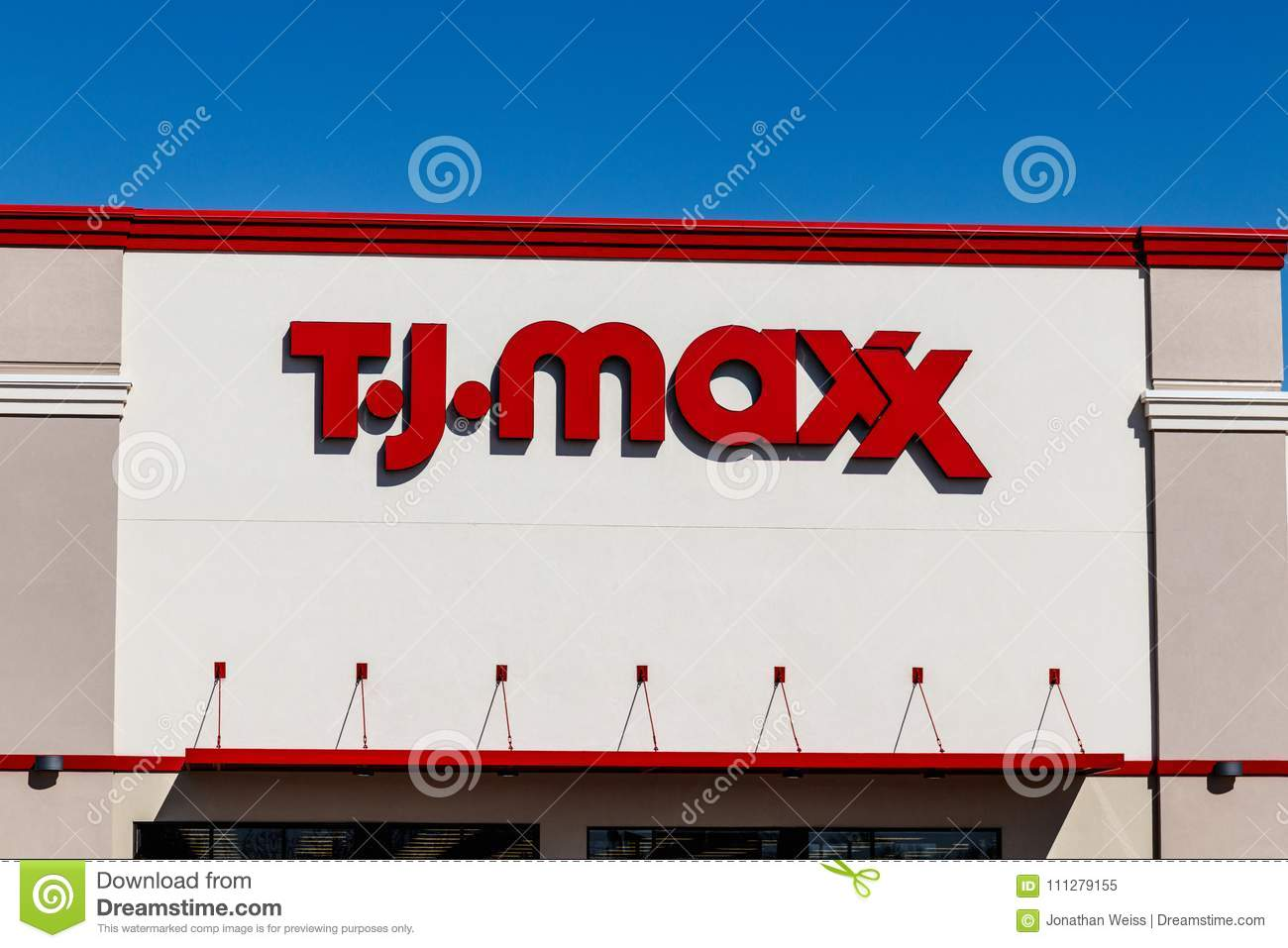 Store A Rabais Indianapolis Vers En Mars 2018 T J Maxx Retail Store Location