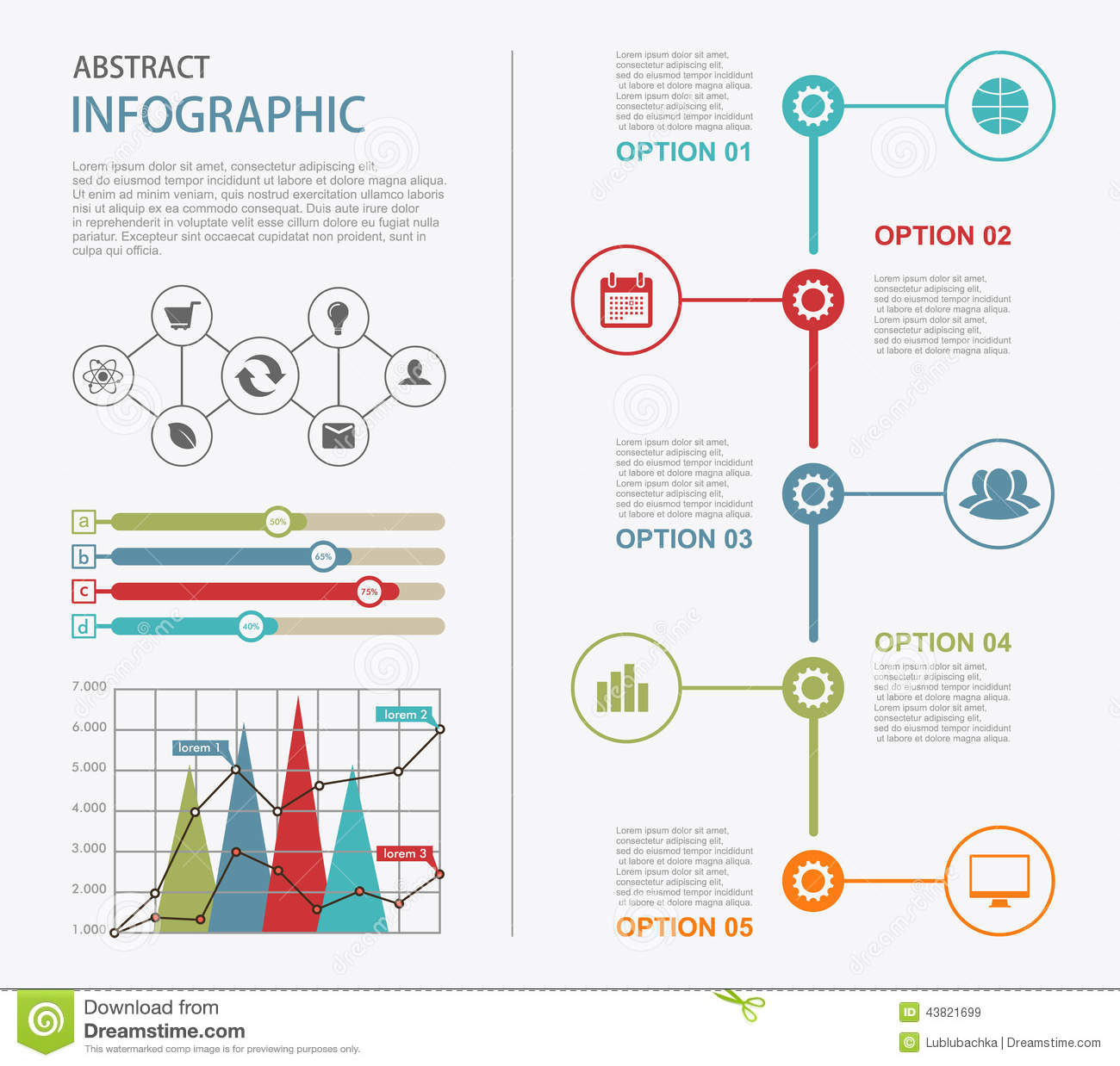 indesign infographic template