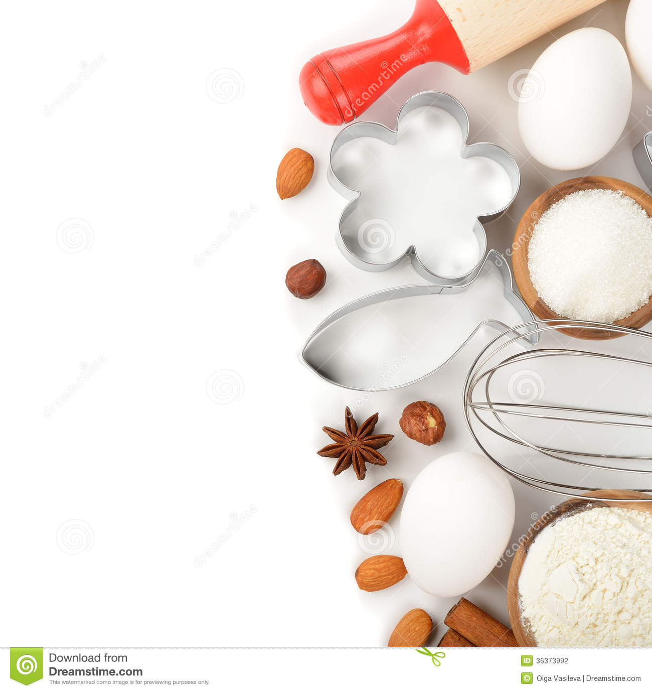 Bakery Wallpaper Hd Ingredients For Baking Stock Photography Image 36373992
