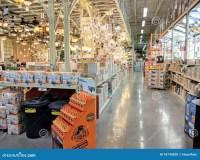 Inside Home Depot editorial image. Image of depot, home ...