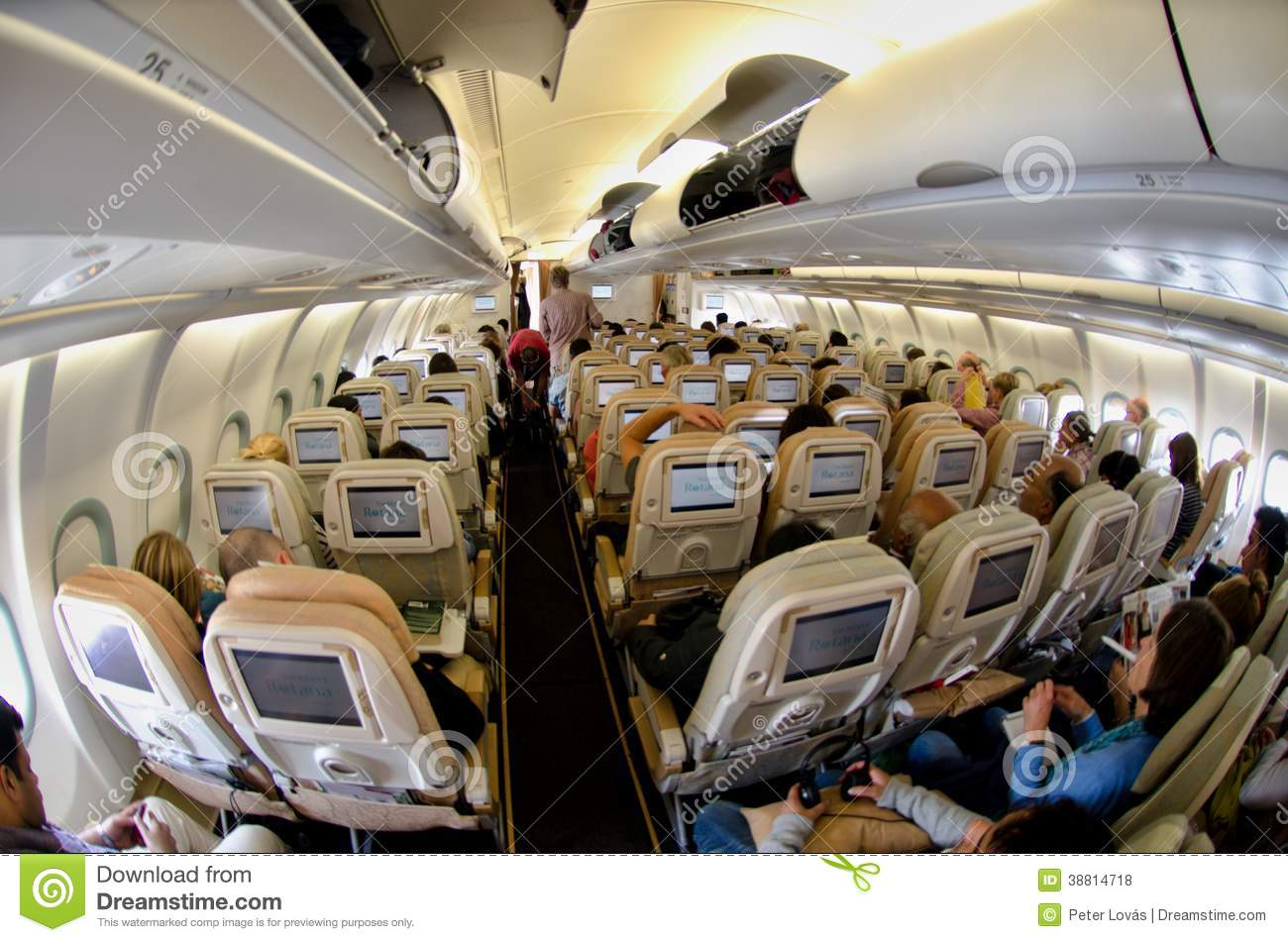 Interieur D'un Avion Xl Airways Intérieur D Un Airbus Photo Stock éditorial Image Du Emirats