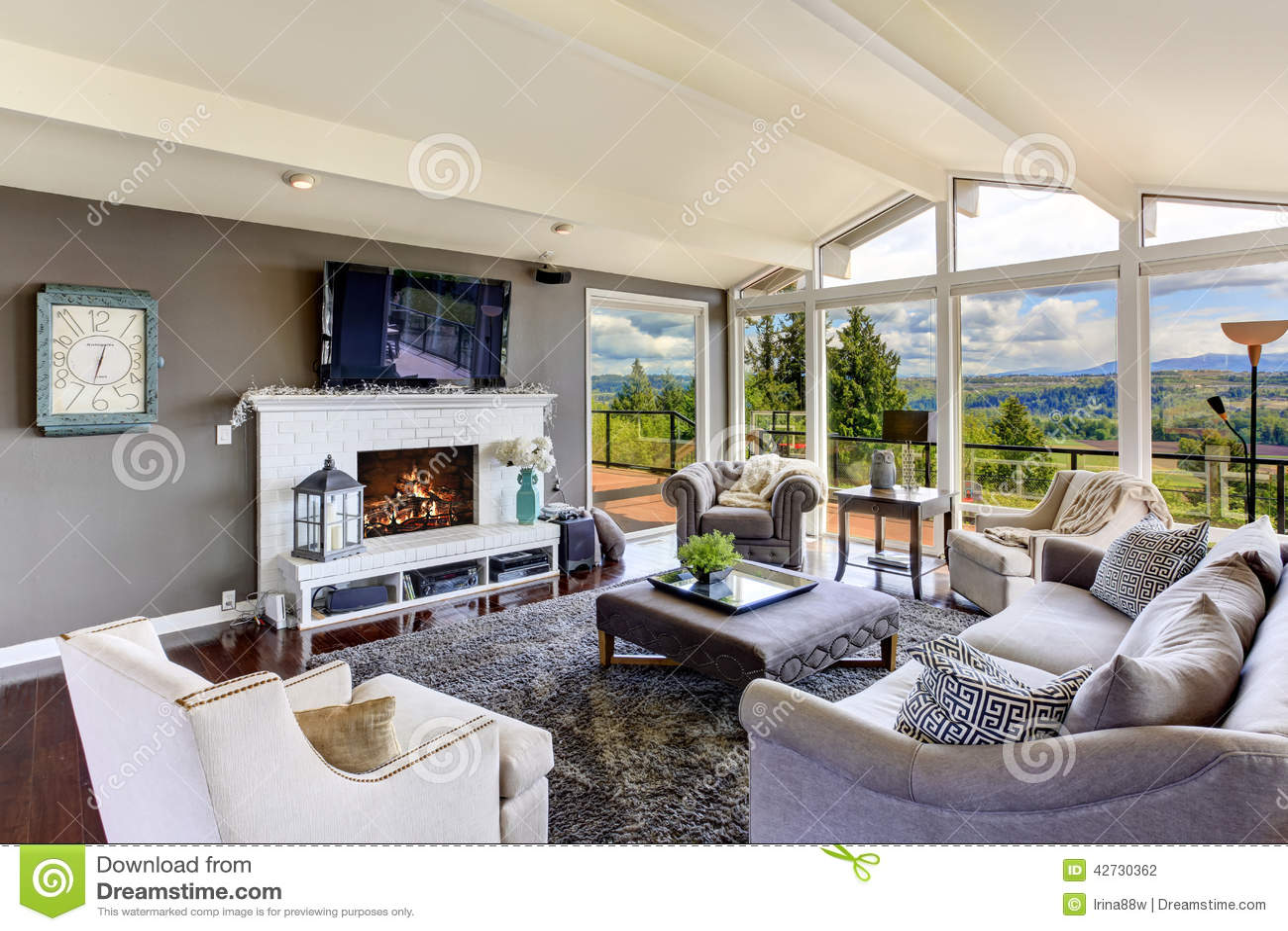 Maison Salon | Salon Simple Decoration Design Inspiration Home ...