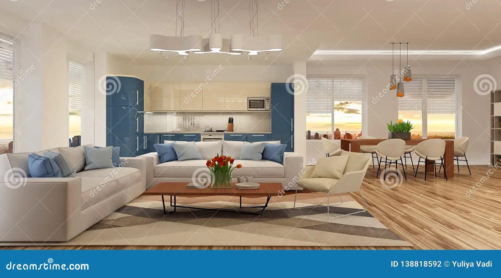 Interieur Moderne De Maison