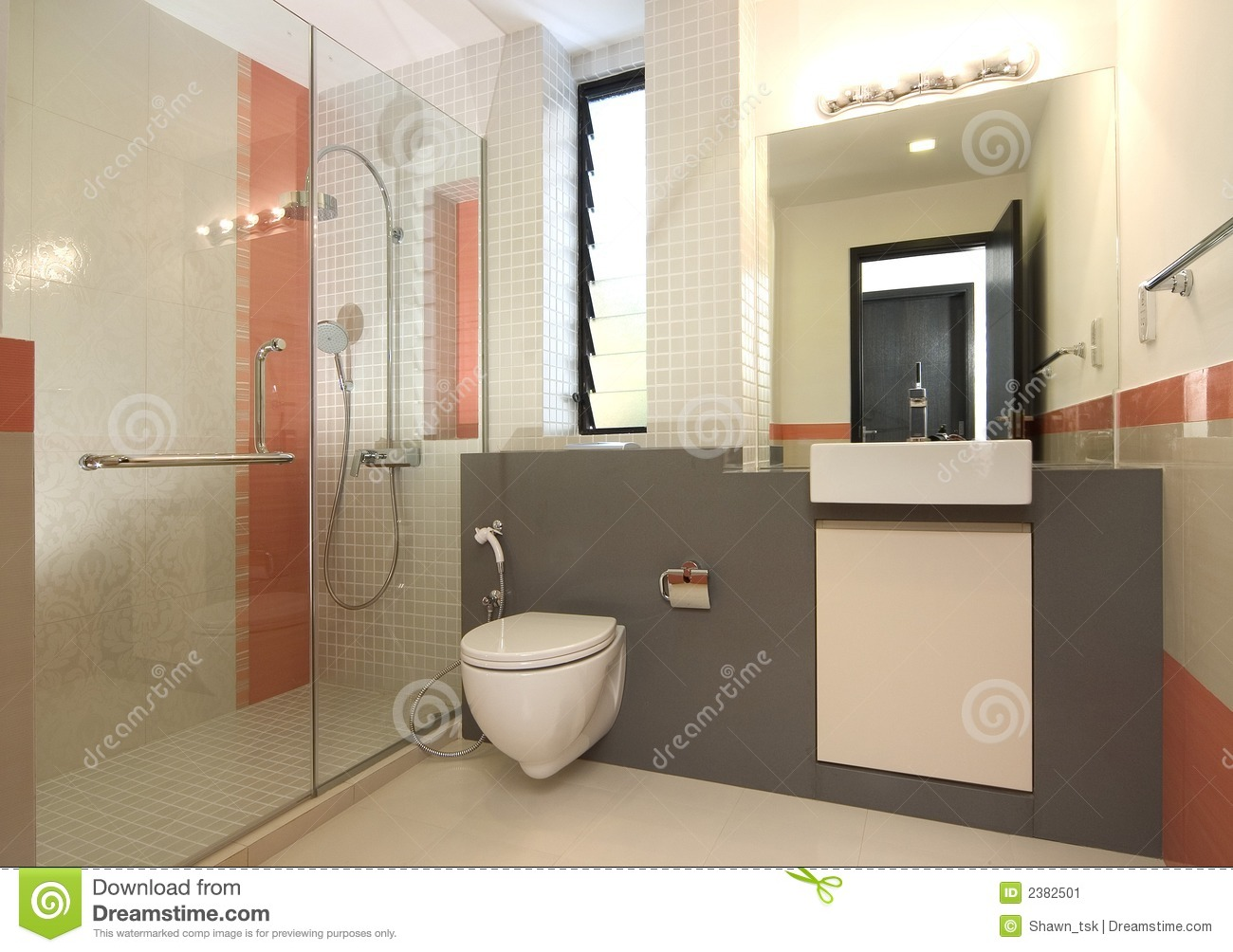 Innenarchitektur Badezimmer Interior Design Bathroom Stock Image Image Of Light