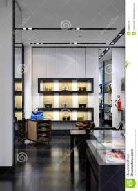 Interior Of A Modern Boutique Store Stock Photo - Image ...