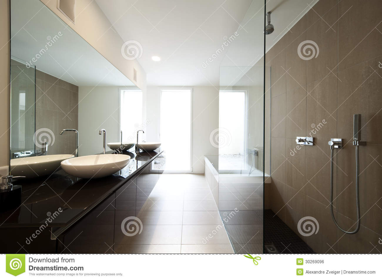 Tod Im Badezimmer Modern House Interior Stock Photo Image Of Inside Clean