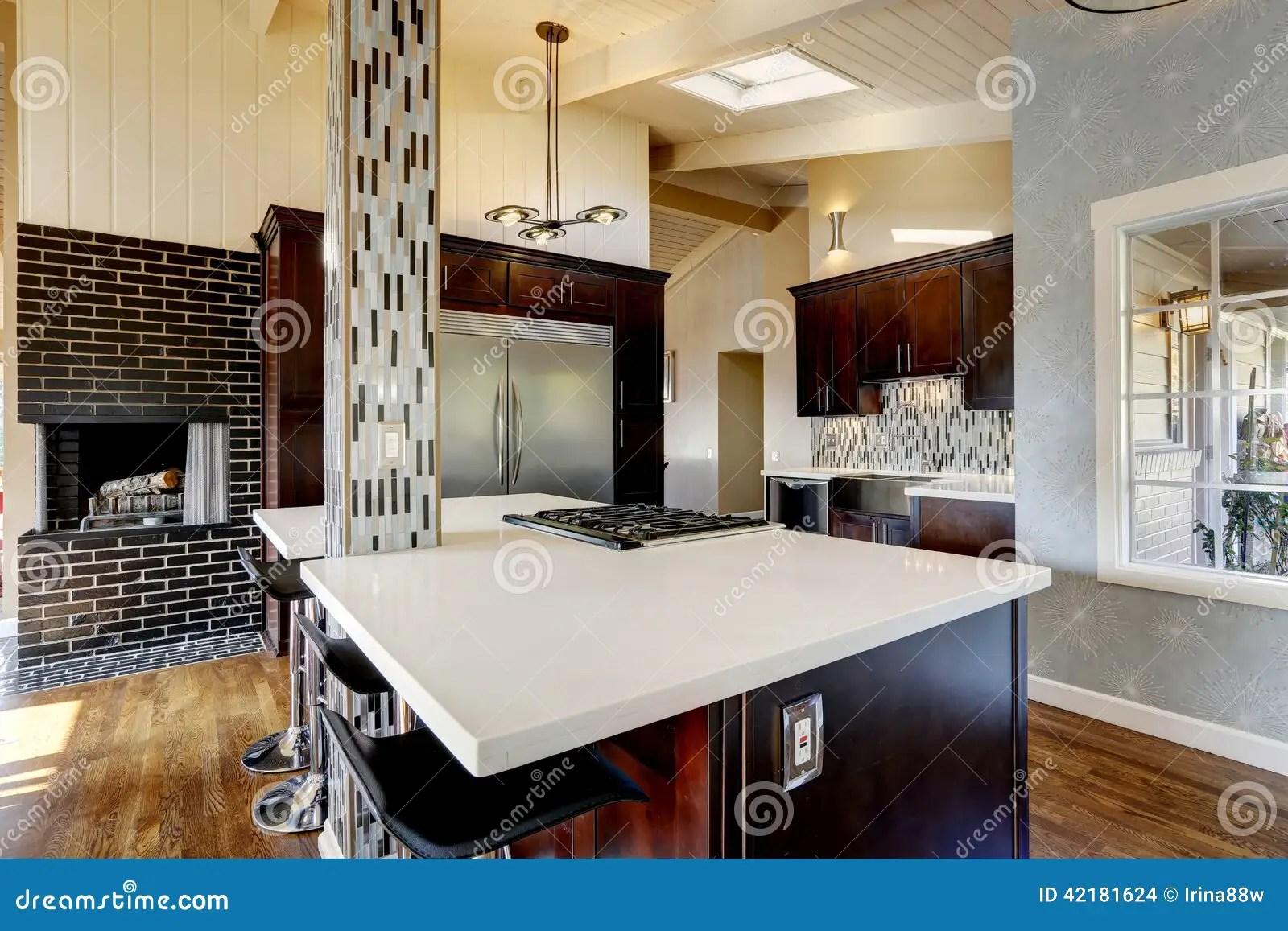 Cucine Moderne Con Camino | Caminetti Da Cottura Moderni Onor E Borin