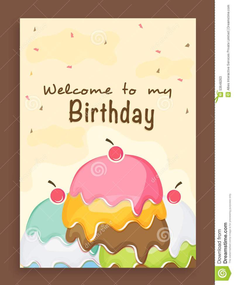 Invitation cards for birthday party invitationswedd birthday party invitation card design image inspiration of cake filmwisefo