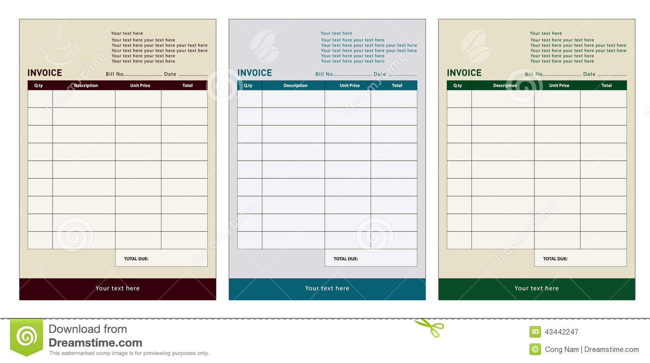 xl invoice template