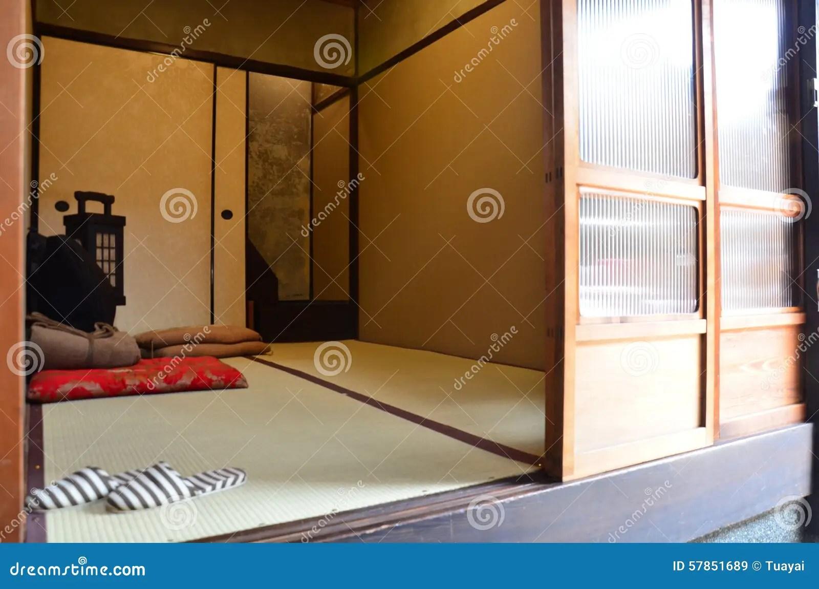 Traditionell Japanisches Schlafzimmer