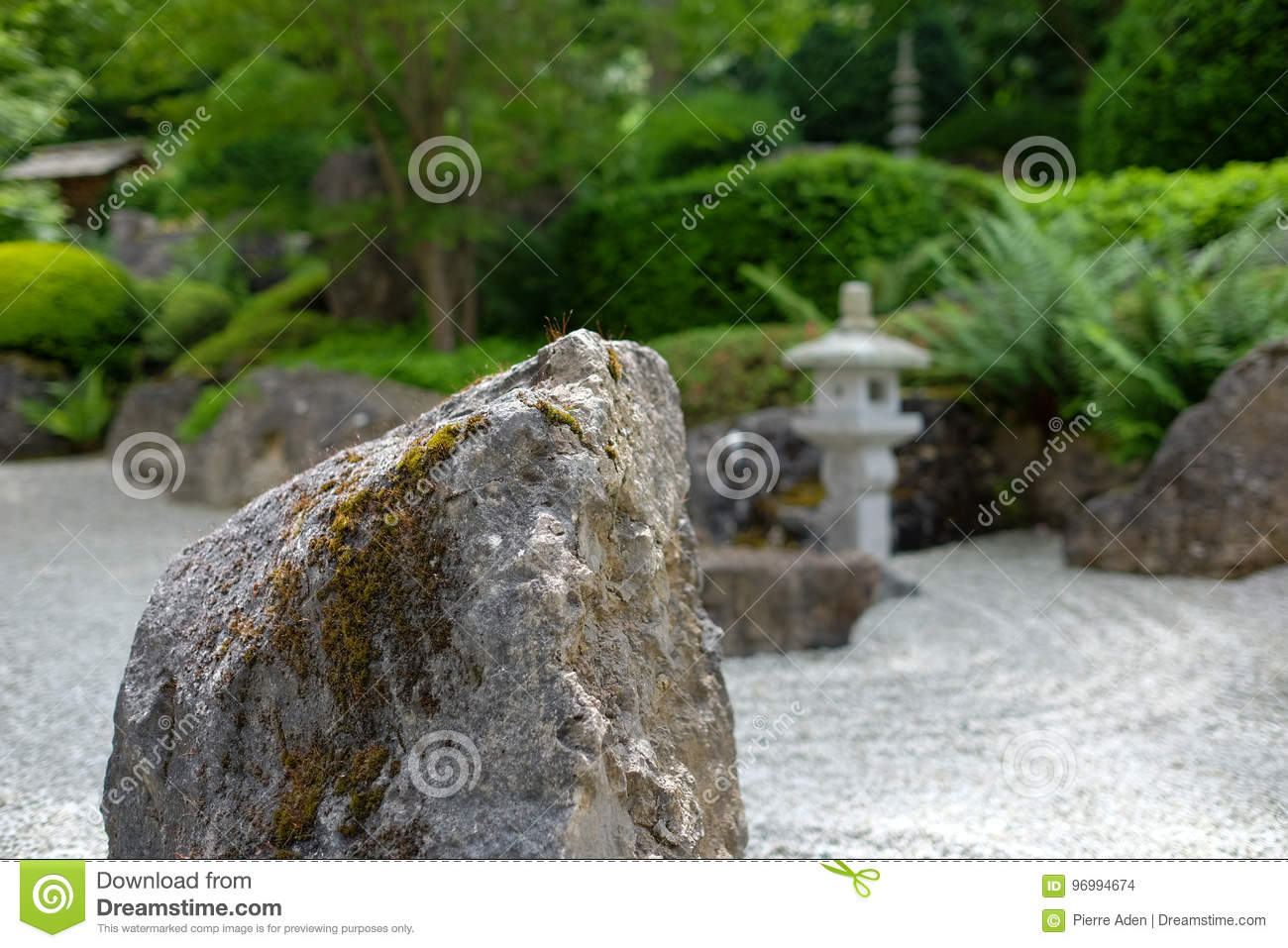 Benediktushof Holzkirchen Japanese Garden Stock Photo Image Of Exterior Europe 96994674
