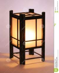Japanese Table Lamp Stock Photography - Image: 33801372