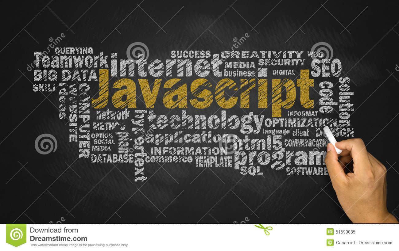 Javascript Cloud Javascript Word Cloud Stock Image Image Of Network Word 51590085
