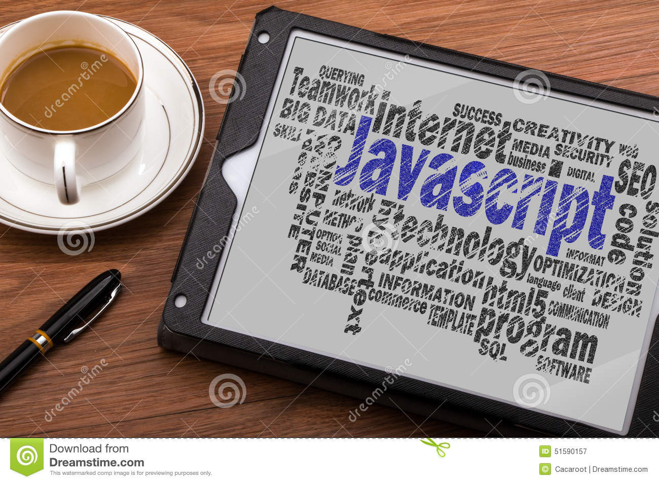 Javascript Cloud Javascript Word Cloud Stock Image Image Of Browser Hypertext